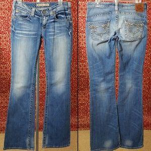 BIG STAR Sweet Ultra Low Rise Boot-Leg Jeans 27L